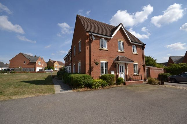 Thumbnail Semi-detached house to rent in Gladiator Close, Wootton, Northampton