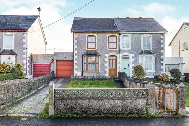 Thumbnail Semi-detached house for sale in Treslothan Road, Troon, Camborne