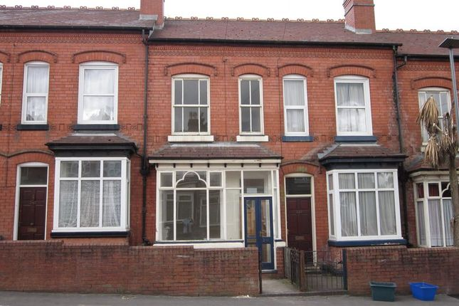 Thumbnail Terraced house to rent in Shenstone Road, Edgbaston, Birmingham