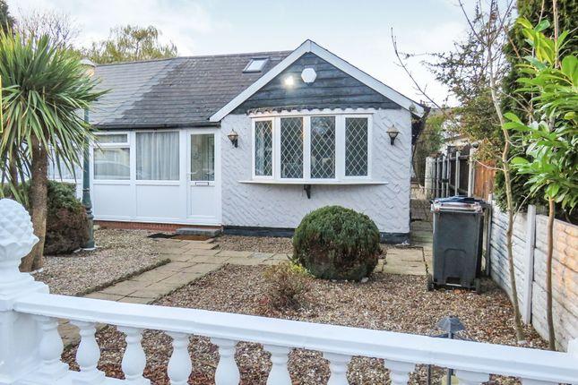 Thumbnail Semi-detached bungalow for sale in Deakin Road, Erdington, Birmingham