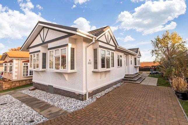 Thumbnail Mobile/park home for sale in 4 Oak Village, Monks Muir Park, Haddington