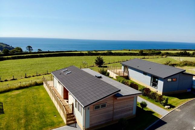 3 bed lodge for sale in Boswinger, St. Austell PL26