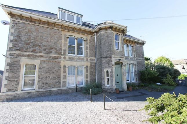 Thumbnail Flat to rent in Cambridge Road, Clevedon