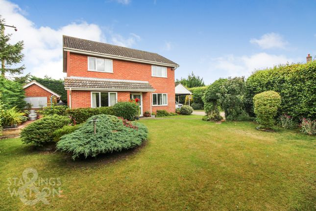 Thumbnail Detached house for sale in The Street, Woodton, Bungay
