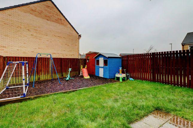 Rear Garden of Barn Drive, Cambuslang, Glasgow G72