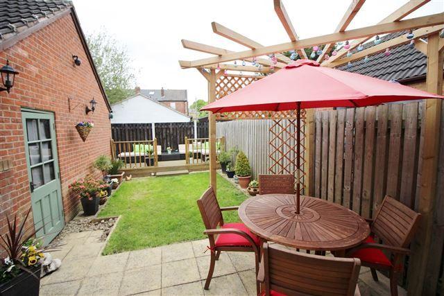 Rear Garden of Brockwood Close, Sheffield S13