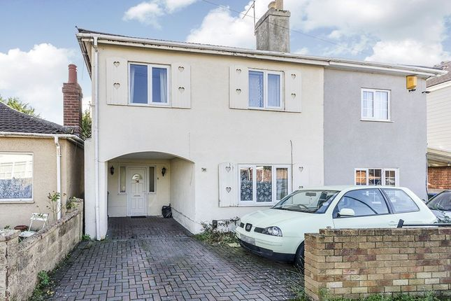 Thumbnail Semi-detached house for sale in Nelson Road, Freemantle, Southampton