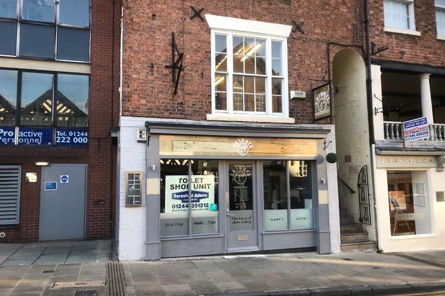 Retail premises to let in 9 Lower Bridge Street, Chester