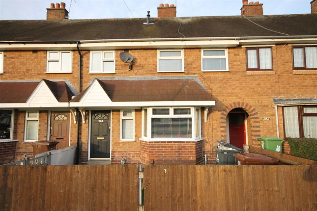 Thumbnail Terraced house to rent in Stephenson Avenue, Walsall