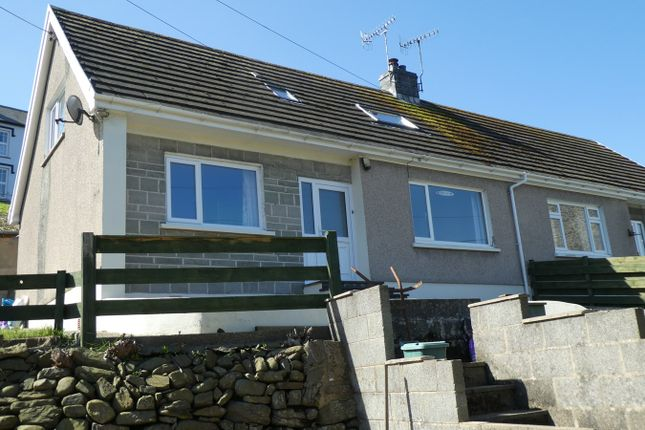 Thumbnail Semi-detached bungalow for sale in Aberarth, Aberaeron