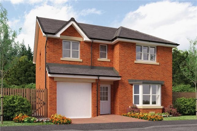 "Thumbnail Detached house for sale in ""Hughes"" at Stevenston Street, New Stevenston, Motherwell"
