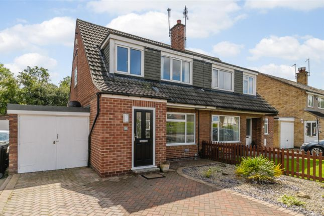 Thumbnail Semi-detached house for sale in Glenfield Avenue, Wetherby