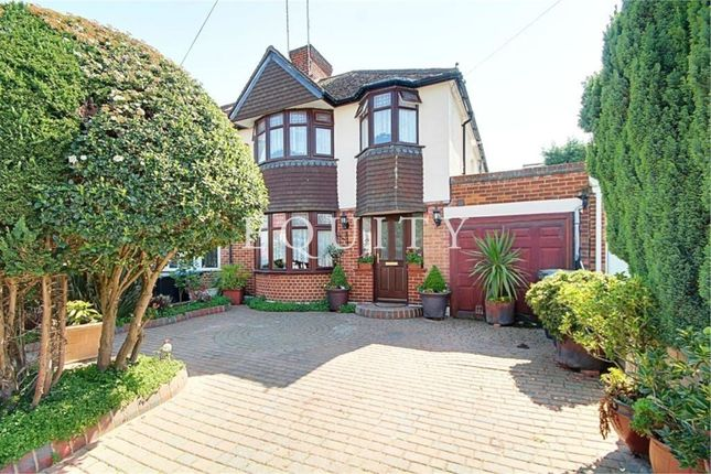 Thumbnail Semi-detached house for sale in Grafton Road, Enfield