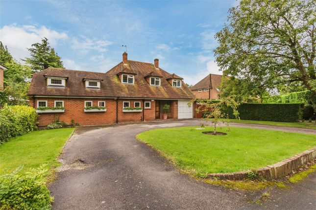 Thumbnail Detached house for sale in Woodham Road, Horsell, Woking