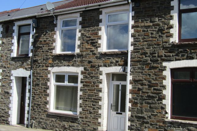 Thumbnail Terraced house to rent in Aberdare Road, Mountain Ash