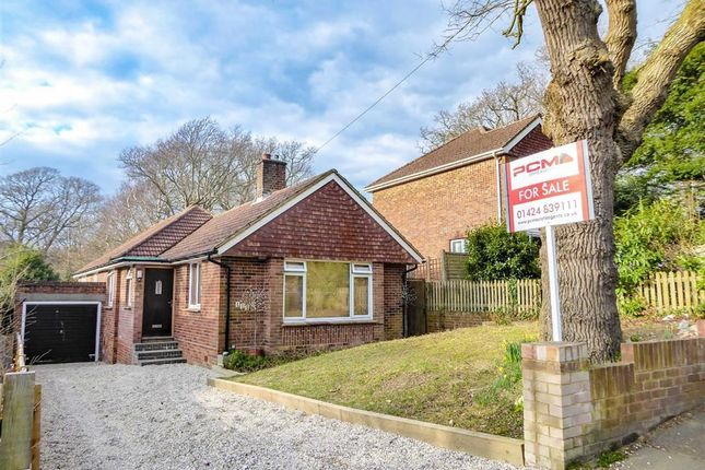 Thumbnail Detached bungalow for sale in Hoads Wood Road, Hastings, East Sussex