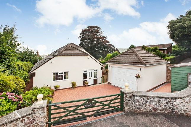 Thumbnail Detached bungalow for sale in Rackenford Road, Tiverton
