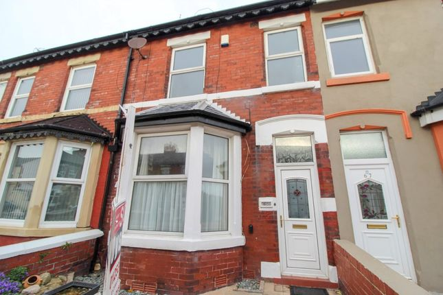 Thumbnail Terraced house to rent in Cocker Street, Blackpool