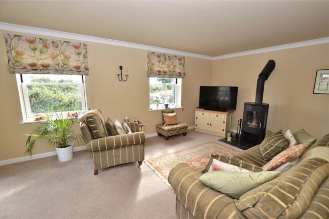 Living Room of Higher Town Court, Rensey Lane, Lapford, Crediton EX17