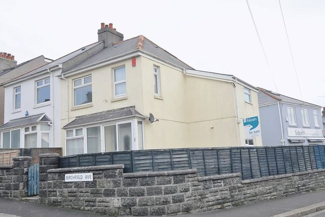 Thumbnail End terrace house for sale in Birchfield Avenue, Beacon Park, Plymouth