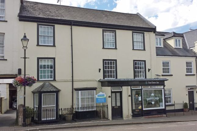 Thumbnail Town house for sale in The Square, North Tawton
