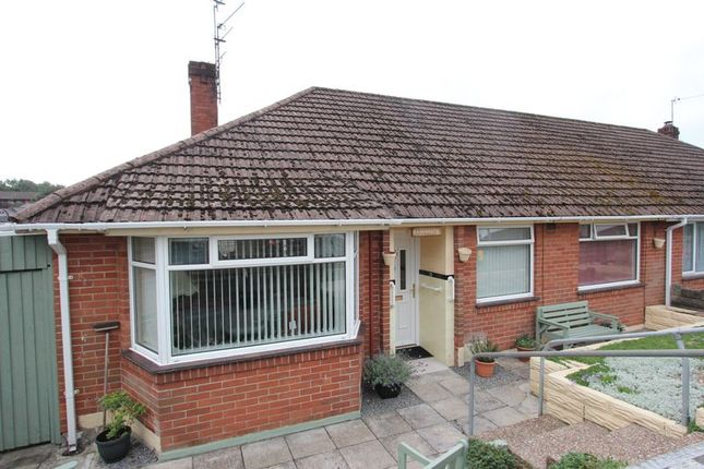 Thumbnail Semi-detached bungalow for sale in Cae Glas, Barry