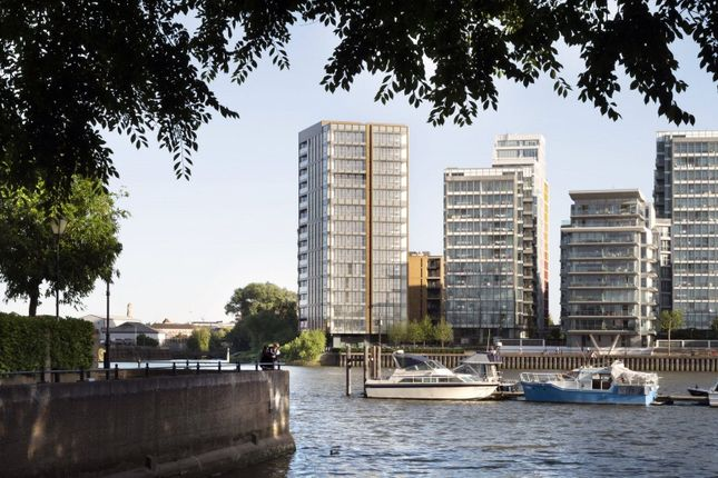 4 bed flat for sale in Riverside Quarter, Wandsworth, London SW18