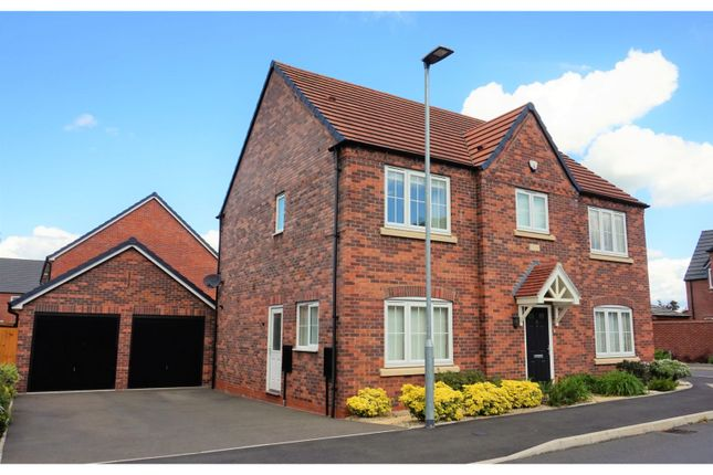 Thumbnail Detached house for sale in Capriole Place, Evesham
