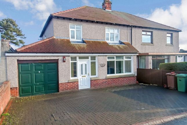 Thumbnail Semi-detached house for sale in Morwick Road, Warkworth, Morpeth