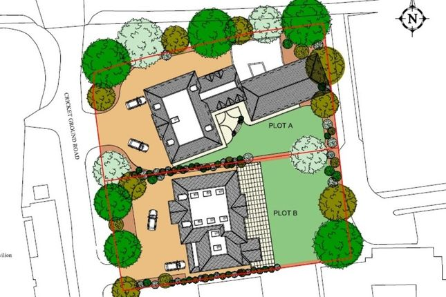 Thumbnail Land for sale in Plot A, Cricket Ground Road, Chislehurst