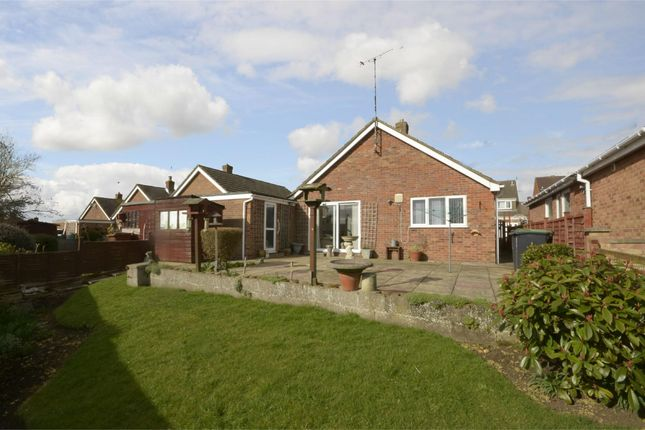 Thumbnail Detached bungalow for sale in Holmes Avenue, Raunds, Northamptonshire