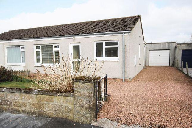 Thumbnail Semi-detached bungalow for sale in Grampian Drive, Northmuir, Kirriemuir