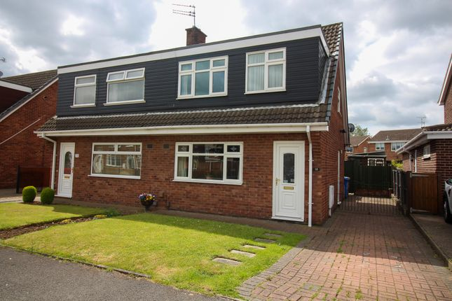 Thumbnail 3 bed semi-detached house for sale in Scotswood Road, Mansfield Woodhouse, Mansfield