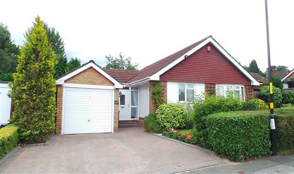 Thumbnail Detached bungalow for sale in Hillmorton Road, Four Oaks, Sutton Coldfield
