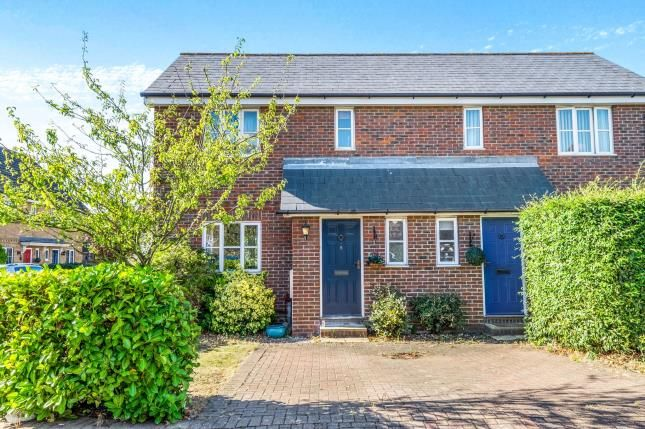 Thumbnail Semi-detached house for sale in Partridge Drive, St. Marys Island, Chatham, Kent
