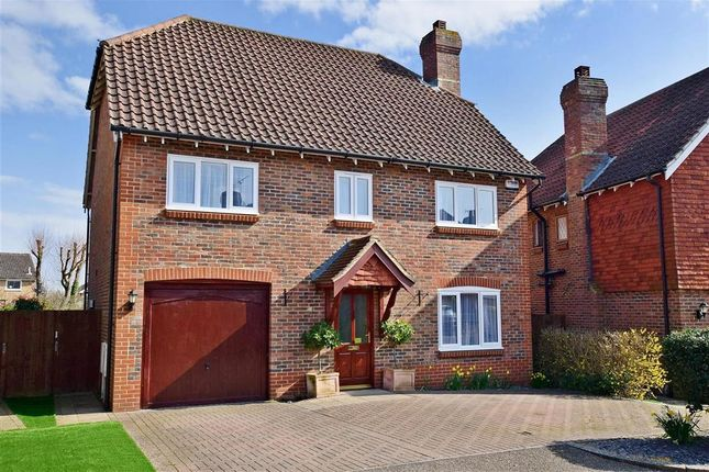 Thumbnail Detached house for sale in Brisley Court, Kingsnorth, Ashford, Kent