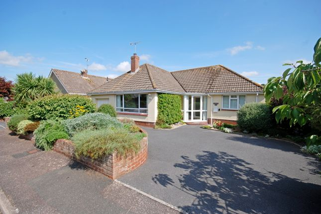 Thumbnail Detached bungalow for sale in Higher Woolbrook Park, Sidmouth