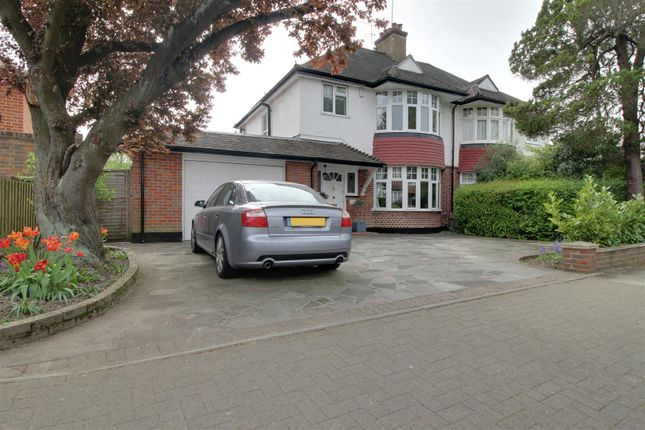 Thumbnail Semi-detached house for sale in Cecil Park, Pinner