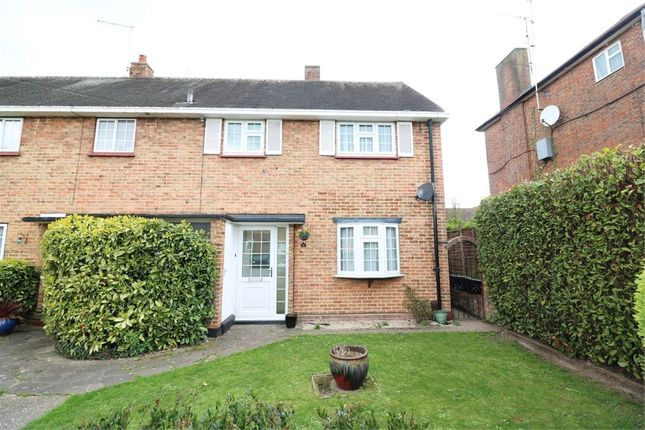 Thumbnail End terrace house for sale in Whitefields Road, Cheshunt, Waltham Cross