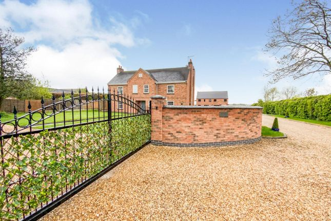 Thumbnail Detached house for sale in Cooks Lane, Sapcote, Leicester