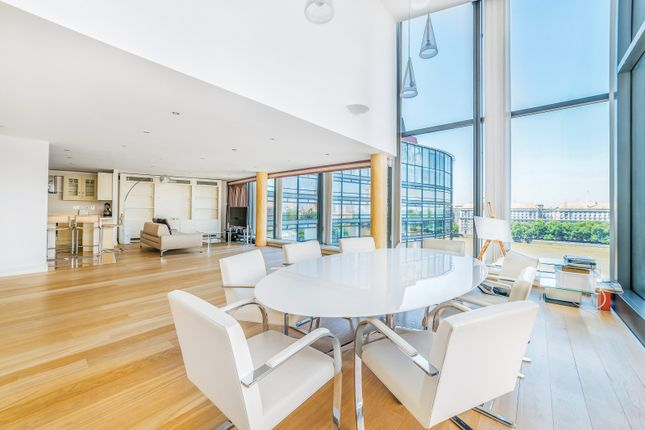 Thumbnail Flat to rent in Parliament View Apartments, Albert Embankment