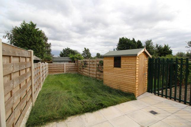 Garden of Jorvik Close, York YO26