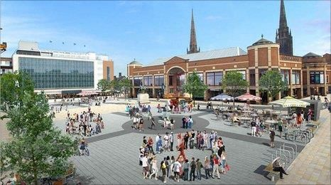 Coventry City Centre Image