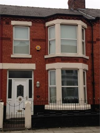 Thumbnail Terraced house to rent in Saxonia Road, Liverpool, Merseyside