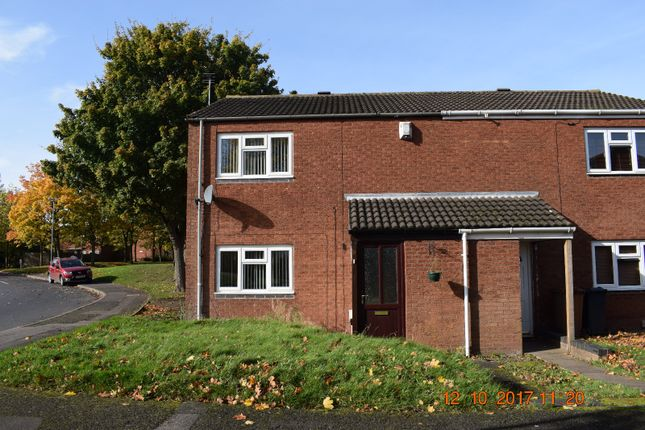 Thumbnail Terraced house to rent in Star Close, Walsall