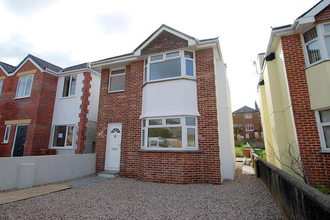 Thumbnail Detached house to rent in Bedford Road, Plymstock, Plymouth