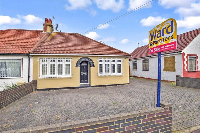 Thumbnail Semi-detached bungalow for sale in Edison Road, Welling, Kent