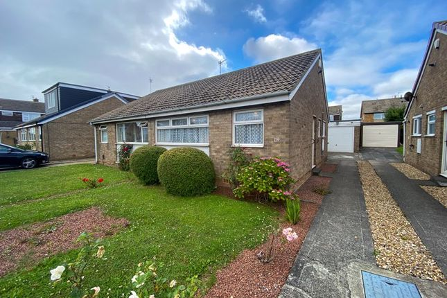 Thumbnail Semi-detached bungalow for sale in Sherwood Drive, Marske-By-The-Sea, Redcar