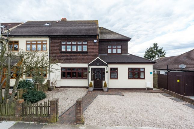 Thumbnail Semi-detached house for sale in Bridge Avenue, Upminster