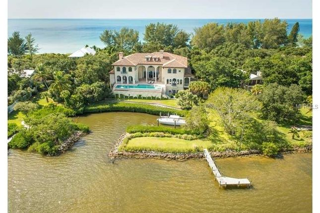 Thumbnail Property for sale in 1160 N Casey Key Rd, Osprey, Florida, 34229, United States Of America